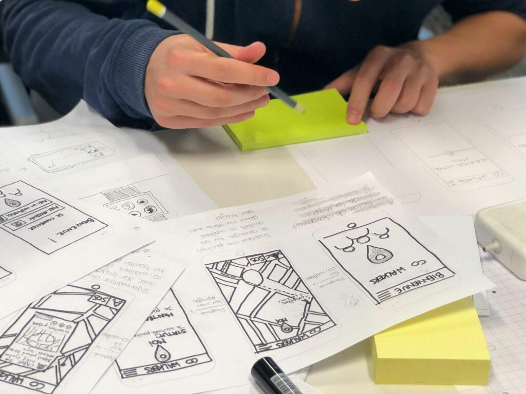 Mit Wireframes kannst du einen Prototypen für eine Software bauen und damit testen, ob sie eine gute Idee ist.